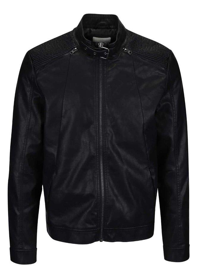 Čierna pánska bunda Shine Original