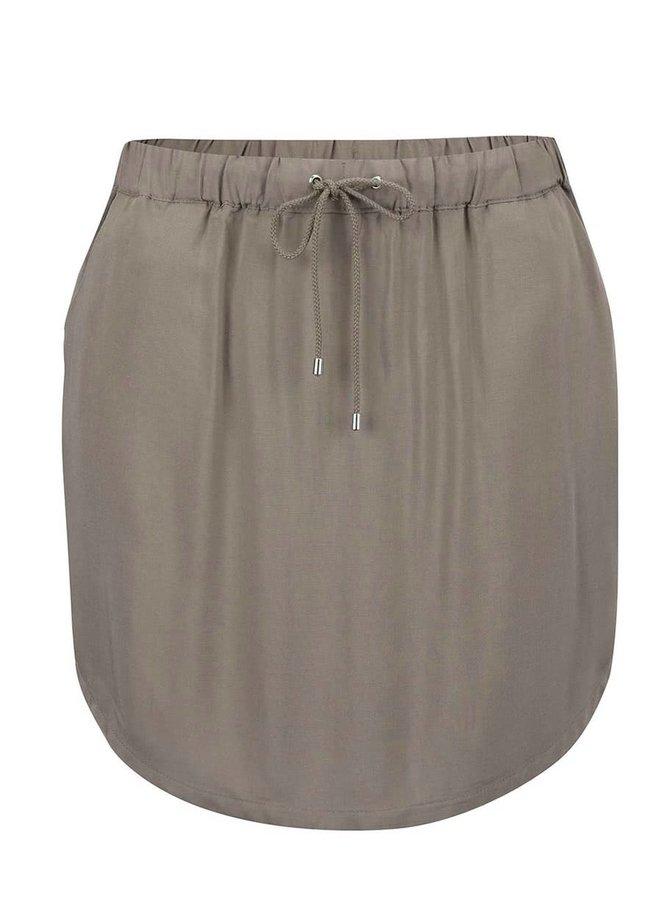 Khaki sukně Vero Moda Super Easy