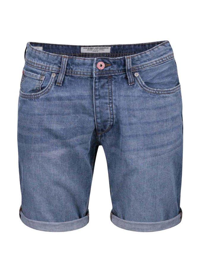 Pantaloni scurți Jack & Jones Rick Original din denim albaștri