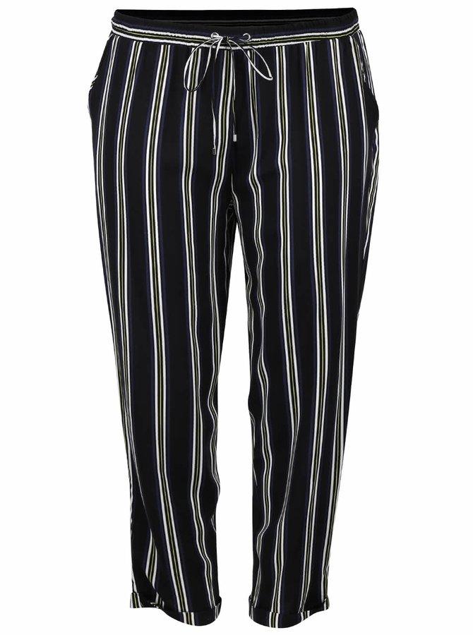 Čierne pruhované nohavice Dorothy Perkins Curve