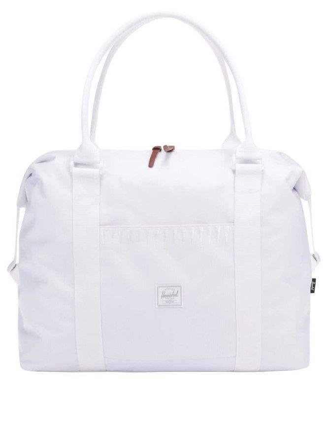 Bílá dámská cestovní taška Herschel Strand 28,5 l