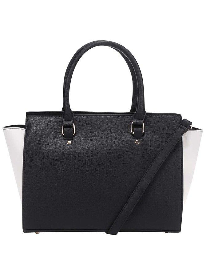 Krémovo-černá kabelka Haily´s Mira