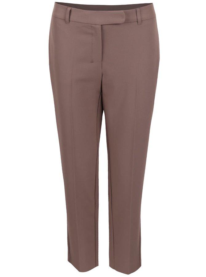 Hnedé osminové nohavice Dorothy Perkins