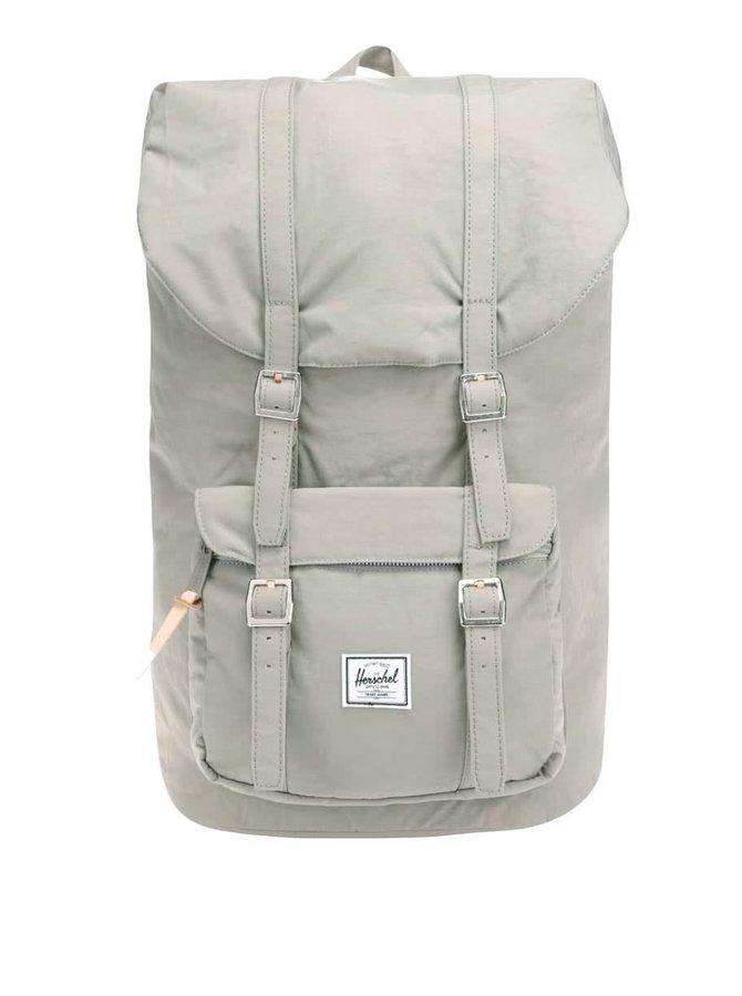 Zeleno-šedý pánský batoh Herschel Little America 25 l
