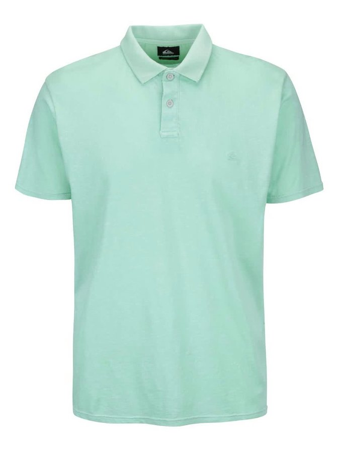 Tricou polo Quiksilver Snow Cruise mint