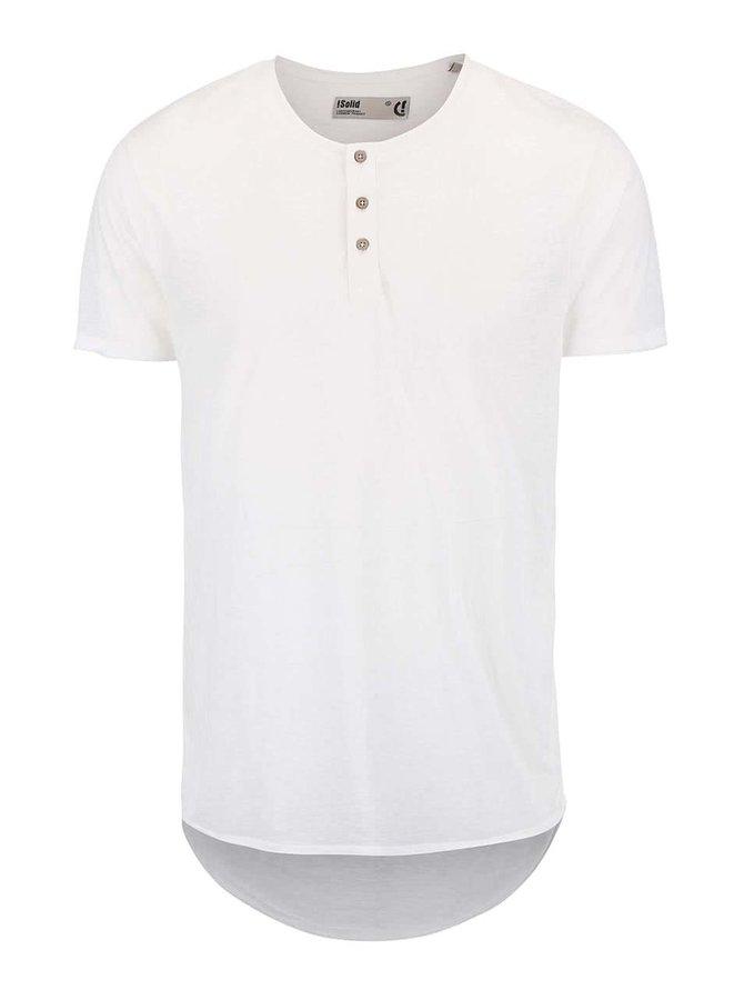 Bílé triko s knoflíčky !Solid Barron
