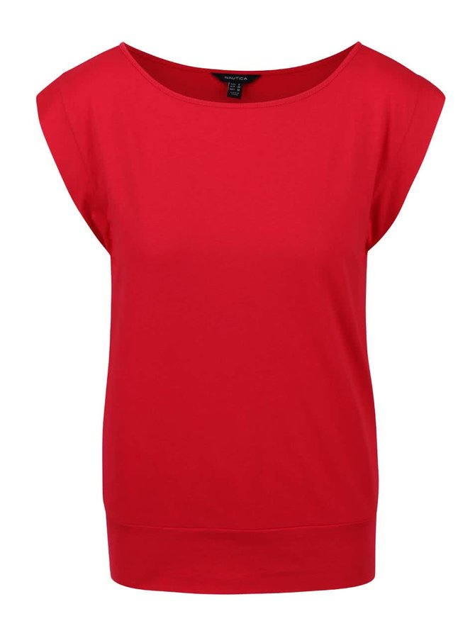 Červené dámské tričko Nautica
