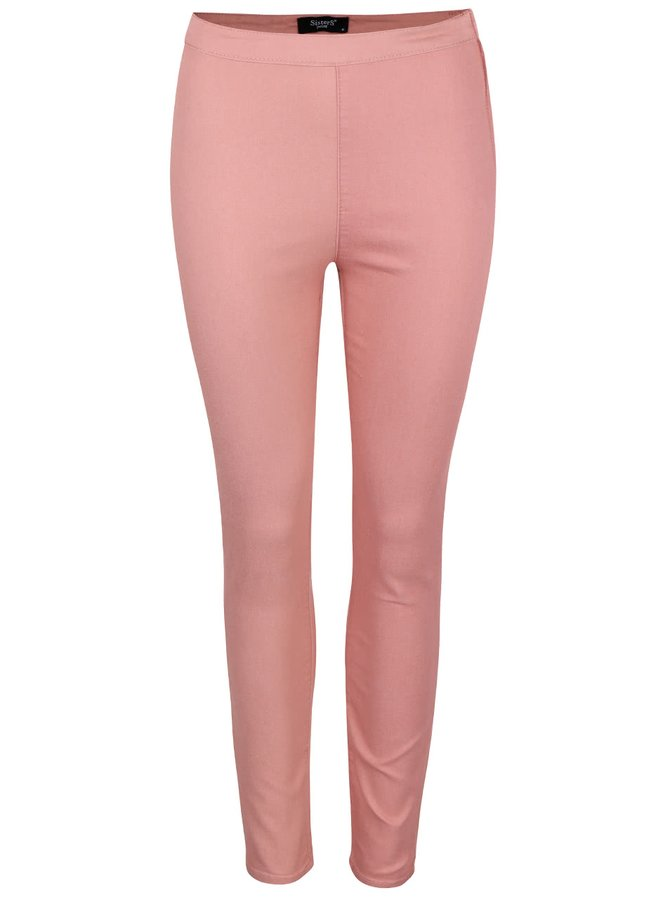 Růžové kalhoty SisterS Point Meno