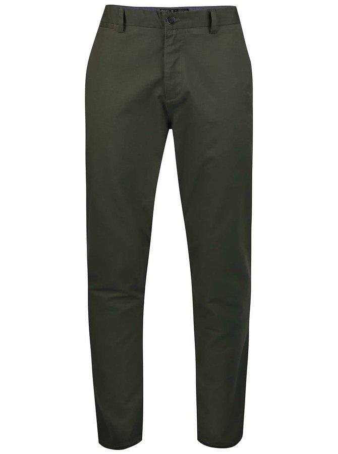 Pantaloni chino Burton Menswear London kaki