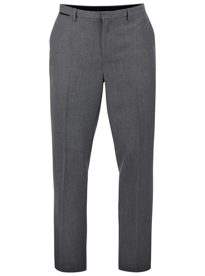 Pantaloni slim Burton Menswear London gri