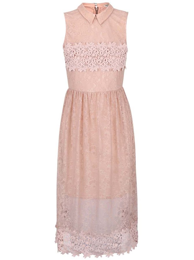Rochie roz Miss Selfridge fără mâneci