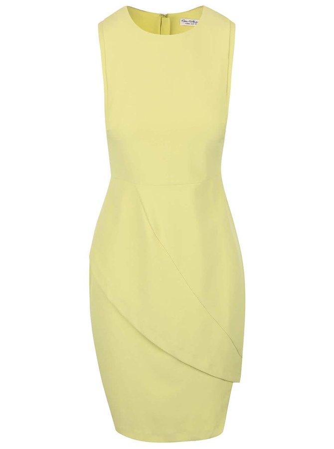 Limetkově zelené šaty Miss Selfridge