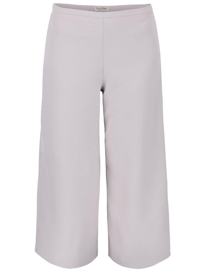 Pantaloni culottes Miss Selfridge gri