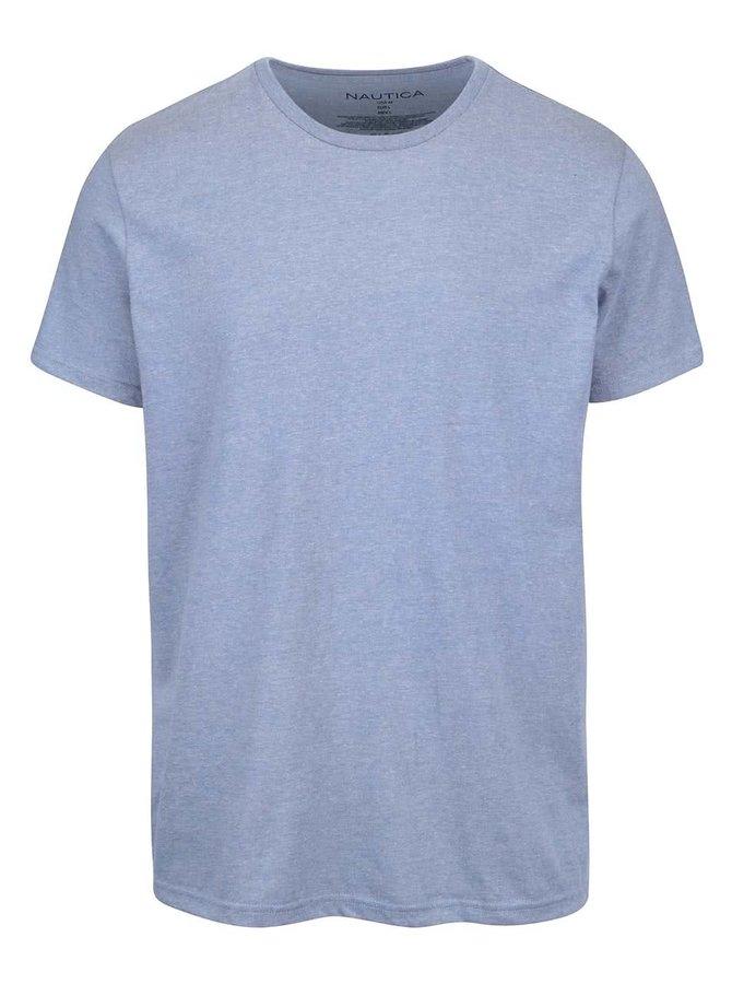 Tricou cu print Nautica albastru