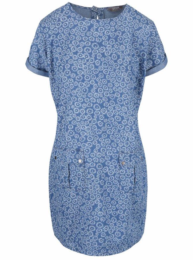 Rochie Dorothy Perkins albastră cu imprimeu