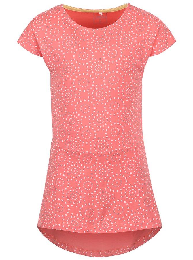 Růžové holčičí vzorované šaty name it Tvigga