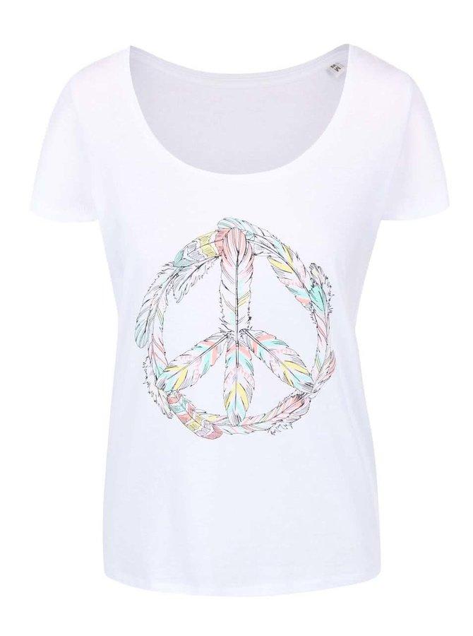 Tricou alb ZOOT Original Peace