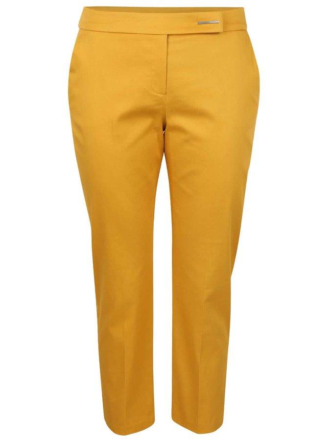 Hořčicové formální kalhoty Dorothy Perkins