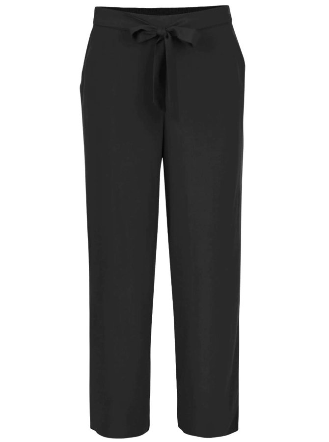Černé volnější kalhoty ONLY Nova Plain