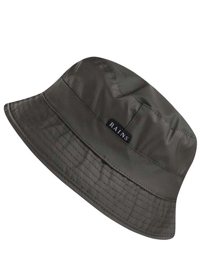 Zelený klobouk Rains