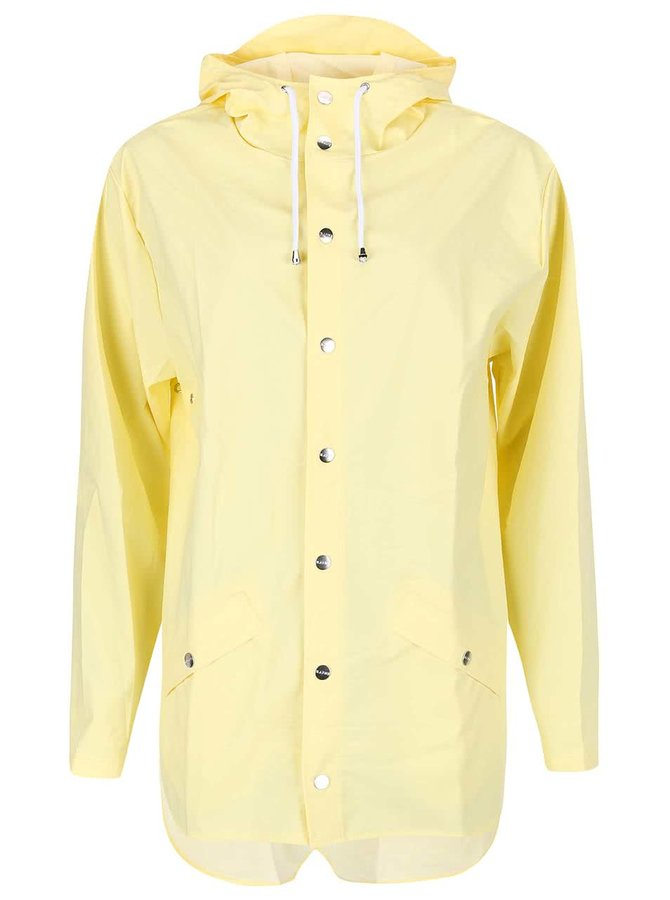 Světle žlutá dámská pláštěnka RAINS