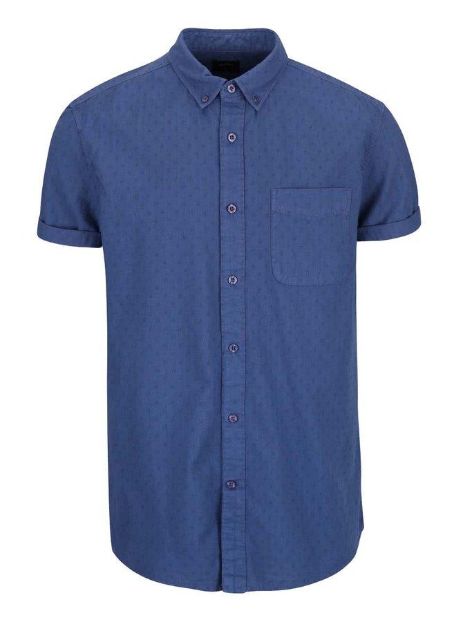 Cămașă albastră Burton Menswear London cu imprimeu