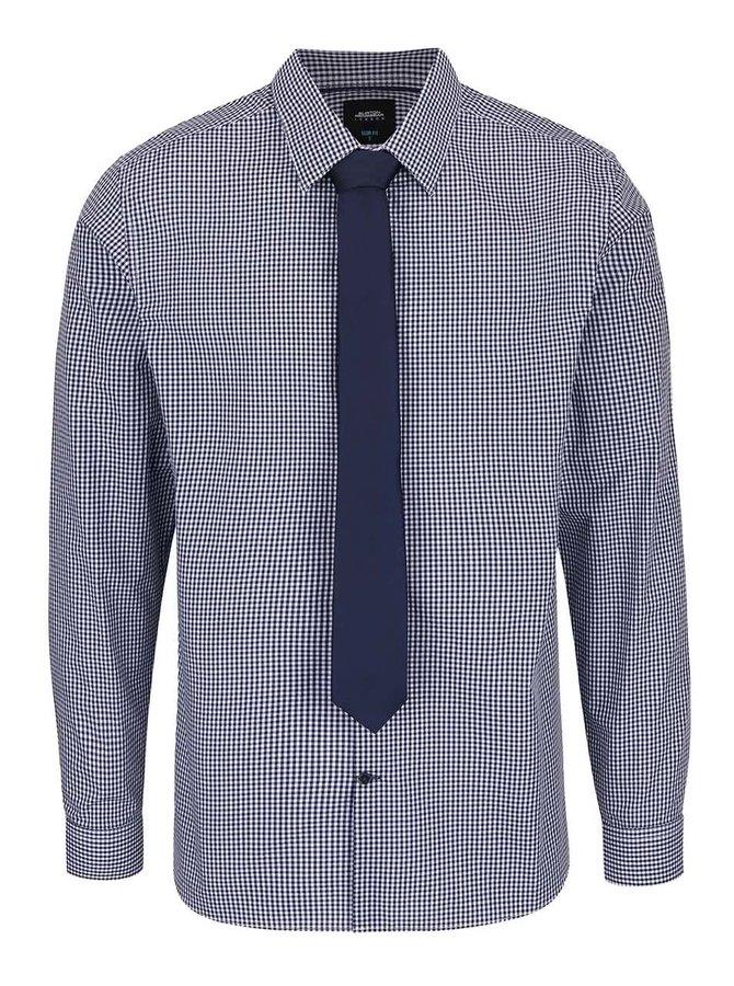 Set Burton Menswear London cravată și cămașă în carouri