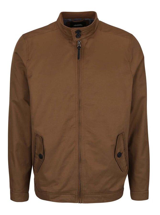 Svetlohnedá bunda na zips Burton Menswear London
