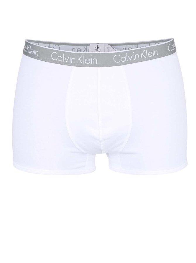 Bílé boxerky Calvin Klein