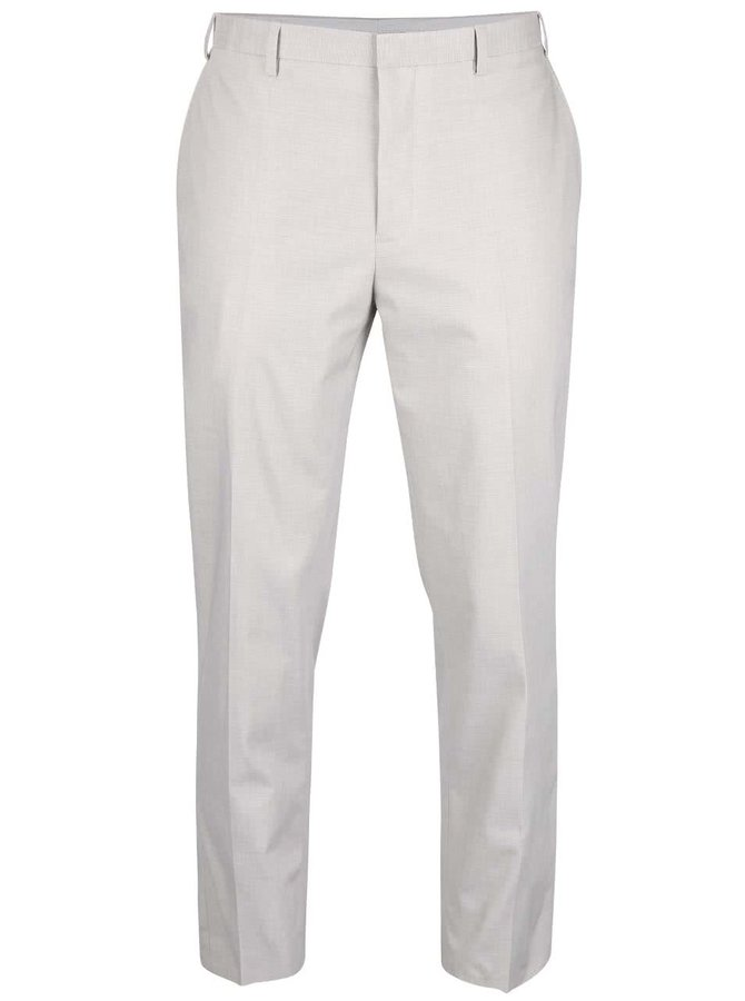 Pantaloni slim fit Burton Menswear London gri deschis