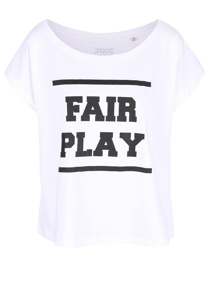Bílé dámské volnější tričko ZOOT Originál Fairplay