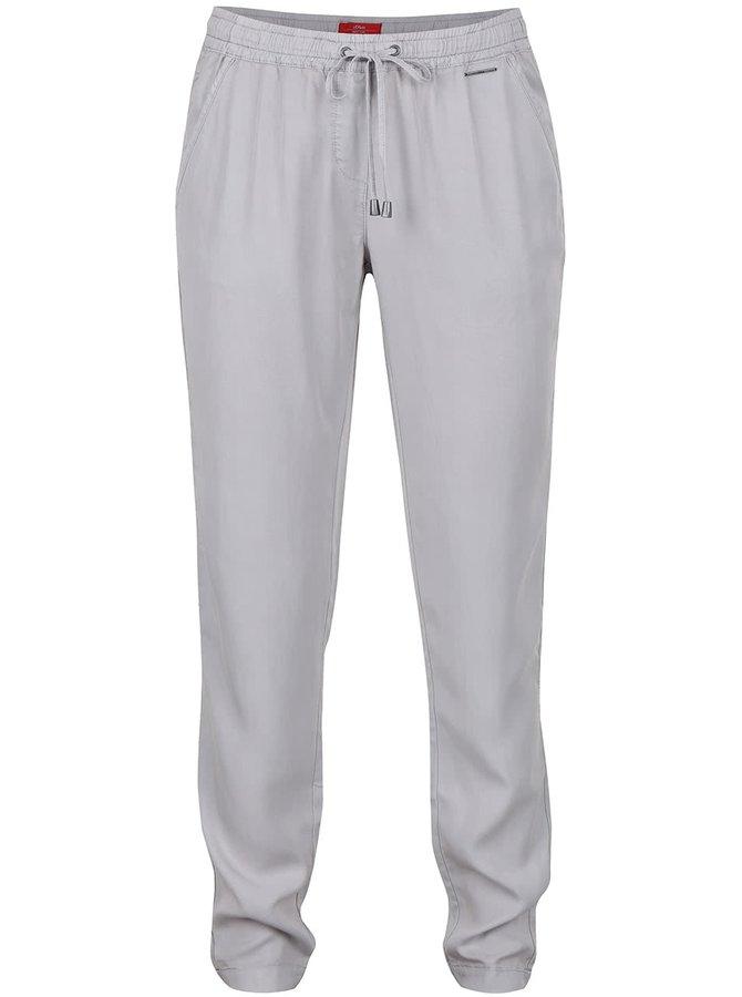 Pantaloni gri de damă s.Oliver