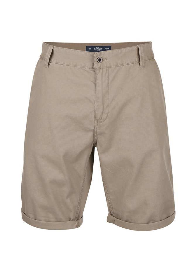 Pantaloni scurți chino bej s.Oliver