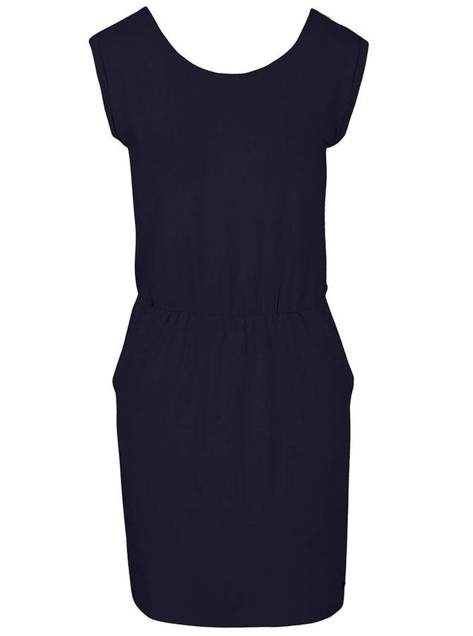 Tmavomodré šaty s vreckami s.Oliver