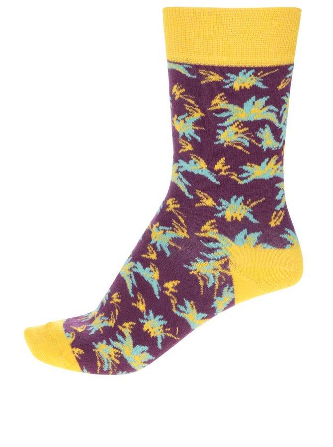 Șosete multicolore Happy Socks Aloha pentru femei