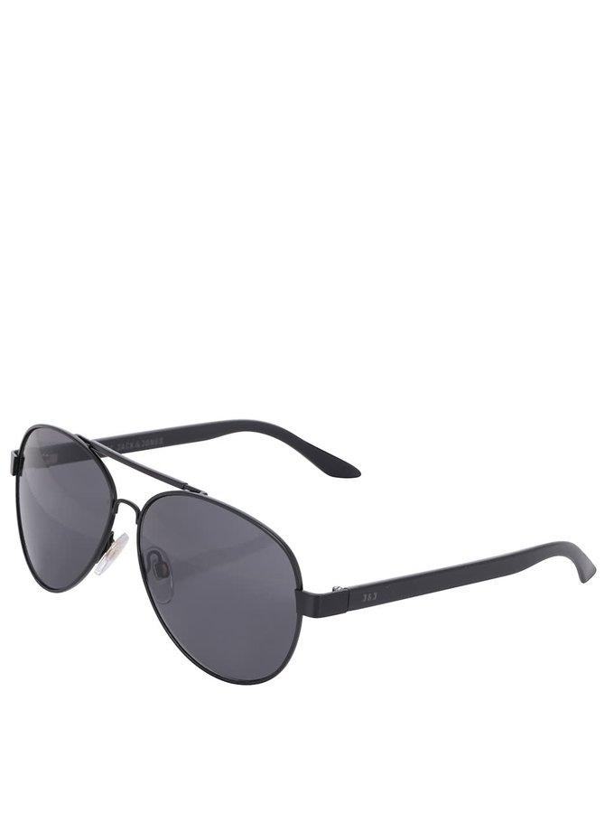 Ochelari de soare Jack & Jones Jack cu ramă neagră