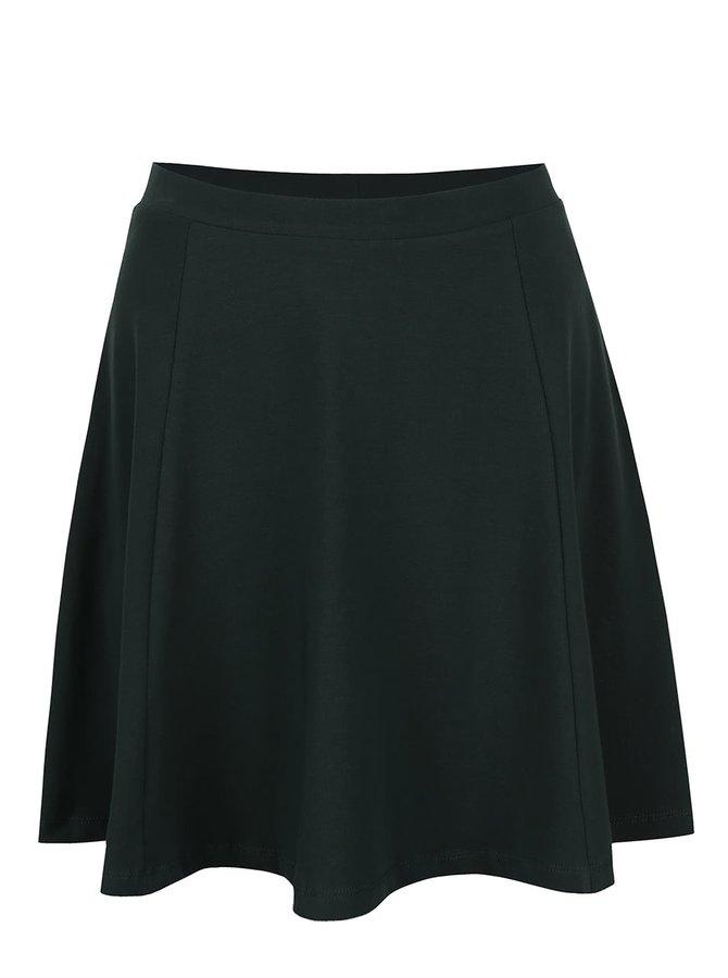Tmavě zelená sukně ONLY New Niella