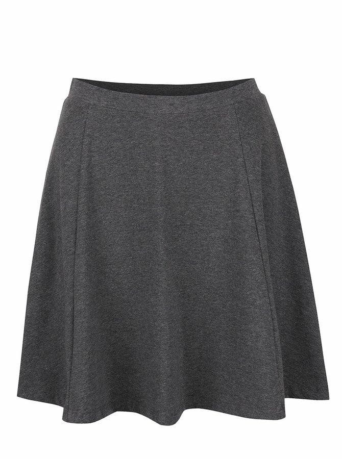 Tmavosivá sukňa ONLY New Niella