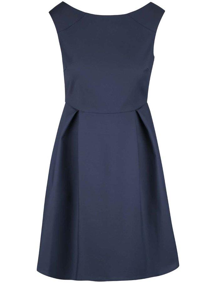 Tmavomodré šaty VILA Salla