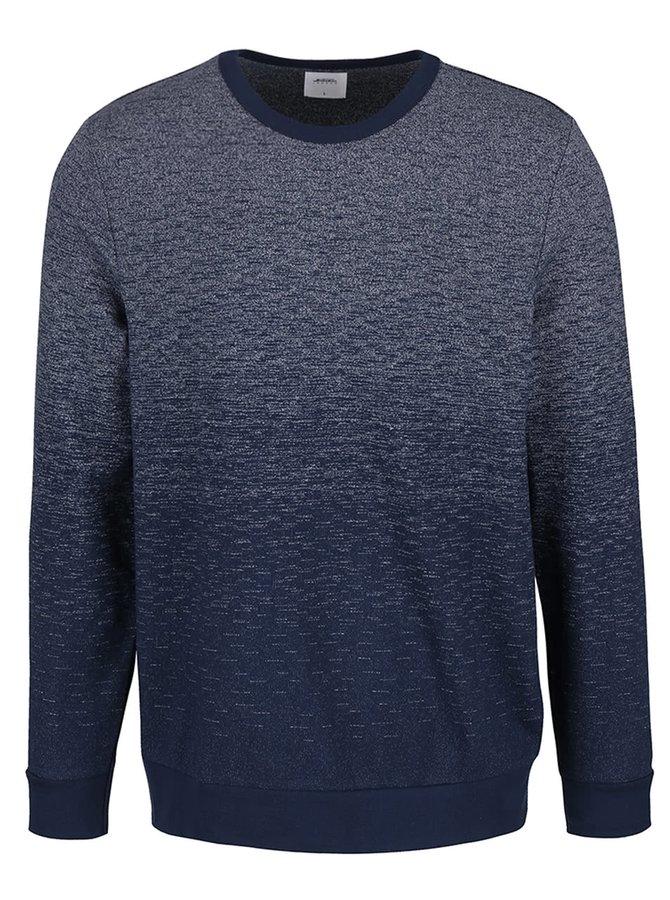 Bluză albastră Burton Menswear London cu efect ombre
