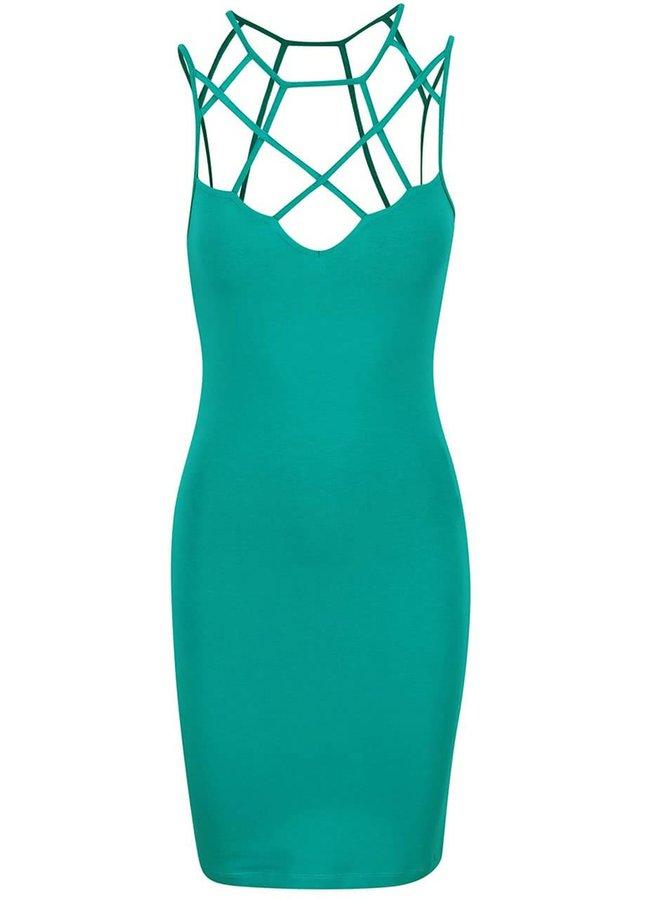 Zelené šaty Miss Selfridge