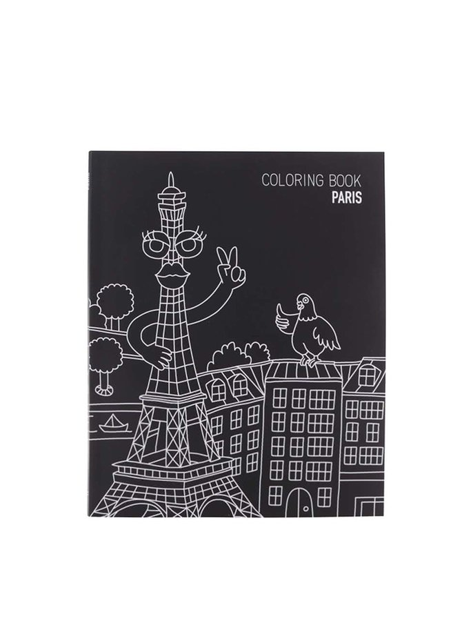 Carte de colorat Paris OMY