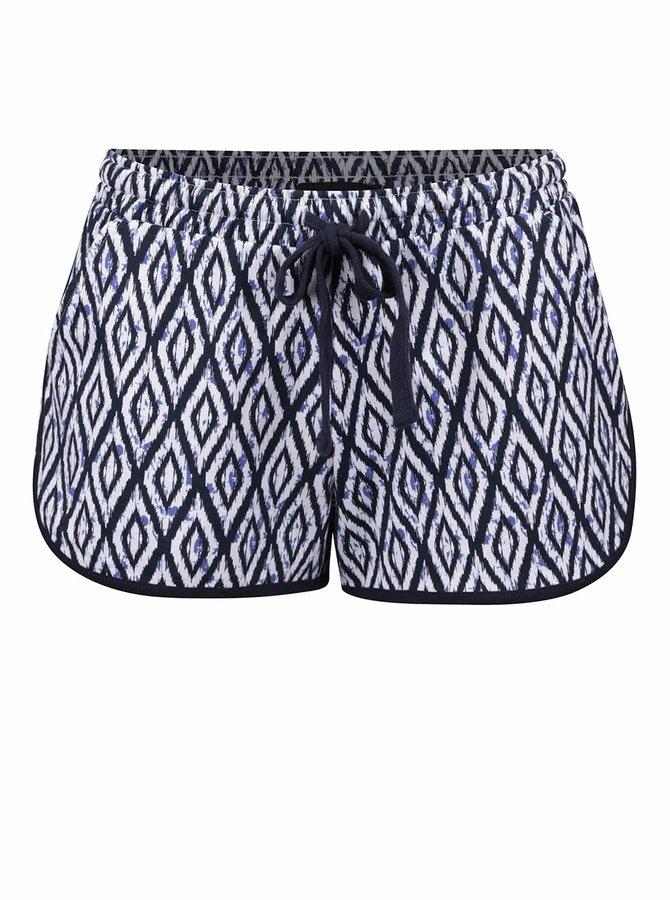 Pantaloni scurți alb-albastru TALLY WEiJL