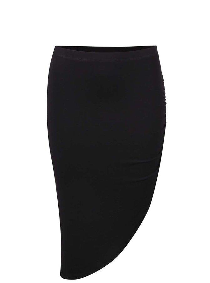 Černá asymetrická sukně TALLY WEiJL
