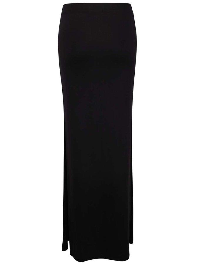 Černá dlouhá sukně TALLY WEiJL