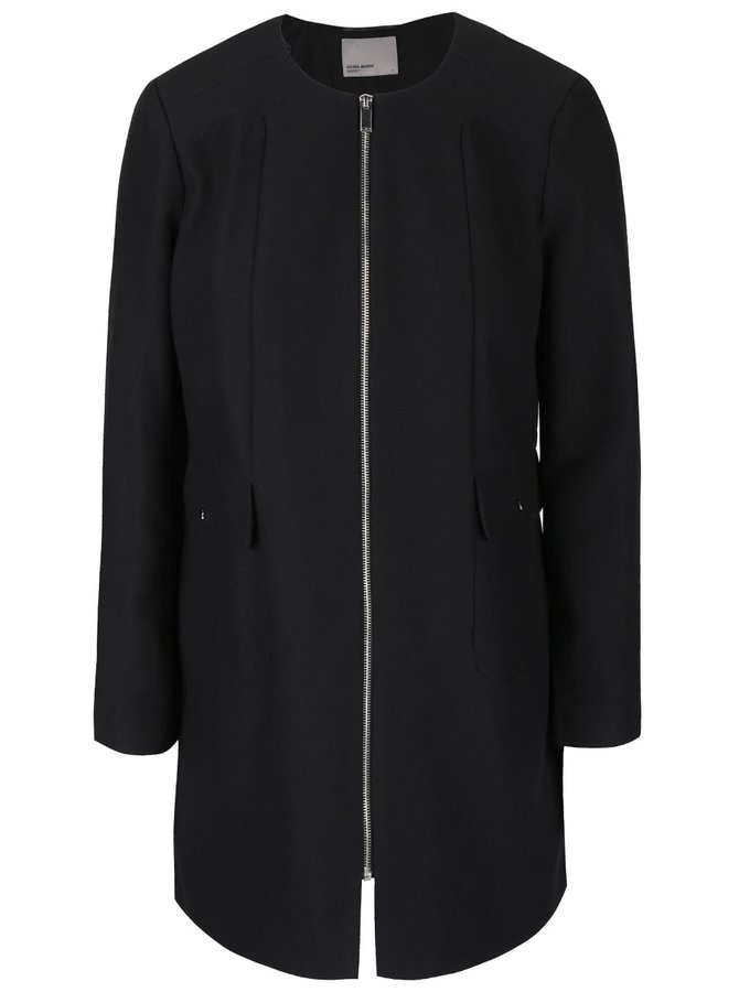 Černý kabát VERO MODA Glory