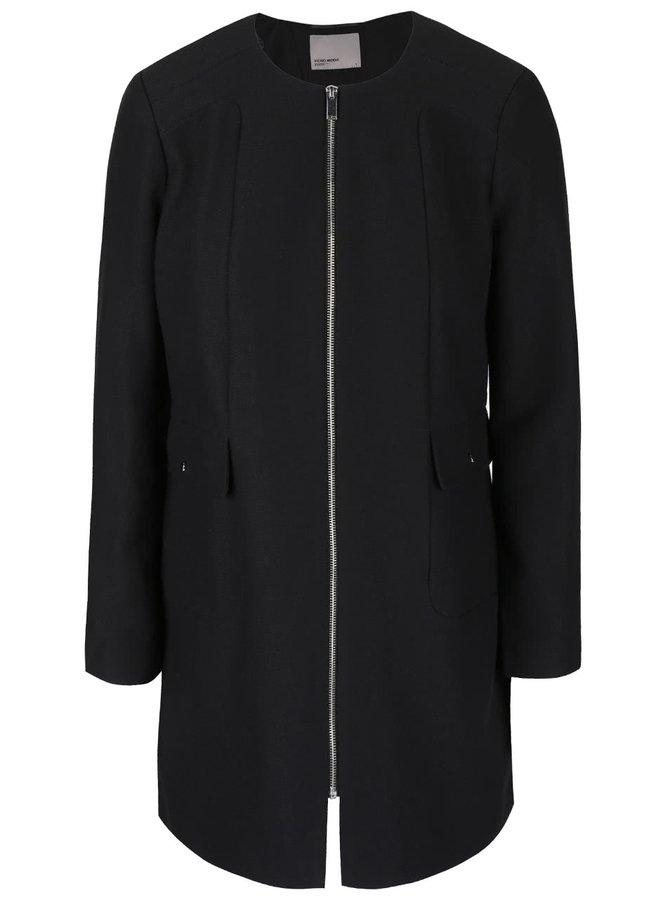 Čierny kabát VERO MODA Glory