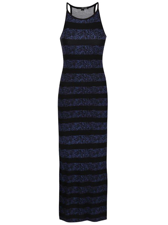 Modro-černé maxišaty s potiskem TALLY WEiJL