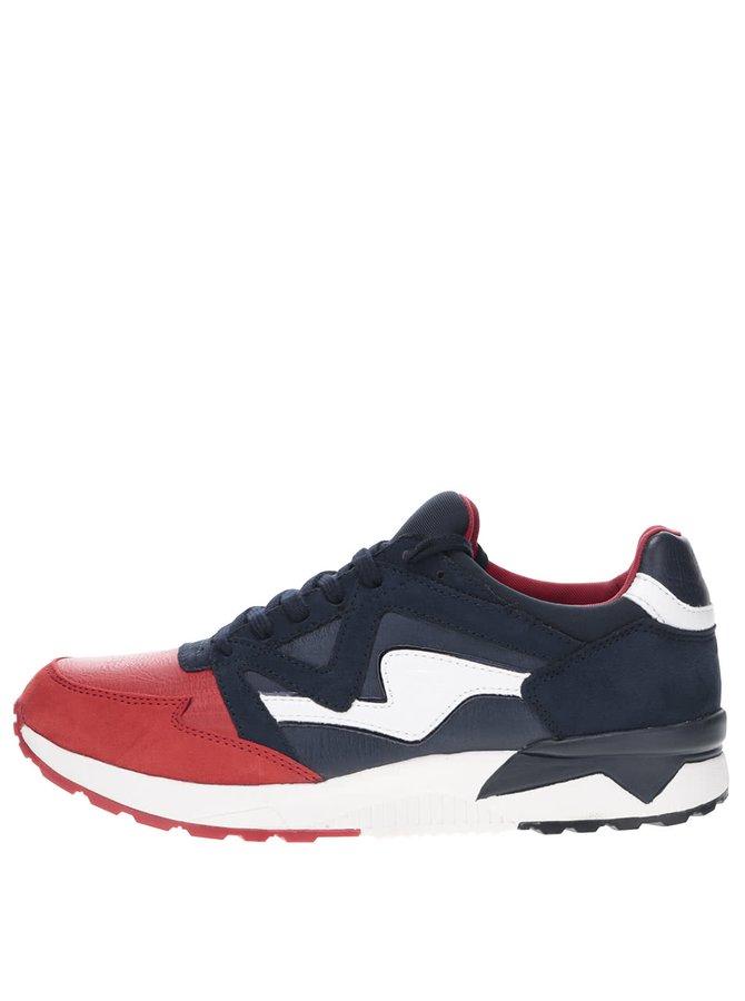 Pantofi sport albastru cu roșu Tamaris