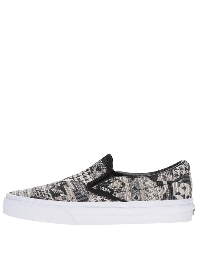 Teniși slip on unisex VANS Classic cu model
